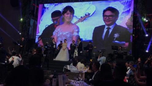 曝摄影师林炳存婚宴星光熠熠 林志玲萧敬腾等捧场