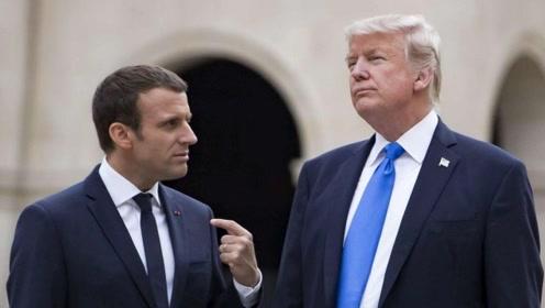特朗普发推讽刺巴黎骚乱 法外长回击:别来干涉法国内政!