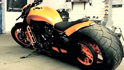 这么帅气的重型摩托,耍酷必备