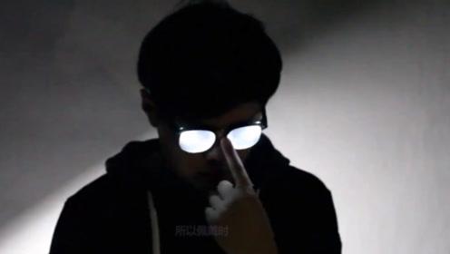 日本小伙自制柯南眼镜,这脑洞是要上天啊