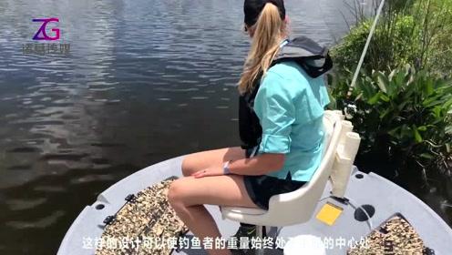 你看河上漂浮的是啥?又大又圆!钓鱼黑科技!