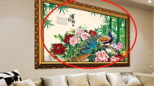 风水大师:客厅不可挂这种画,暗喻越住越穷,还会影响身体健康!