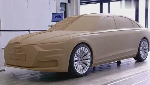 奥迪汽车外观设计流程,太赞了,真不愧是汽车强国