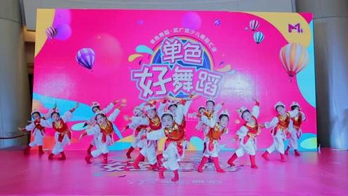 中国舞《蒙古姑娘》,孩子们的感染力真强!