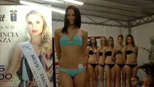 世界小姐大赛泳装秀,有魅力的模特真迷人!