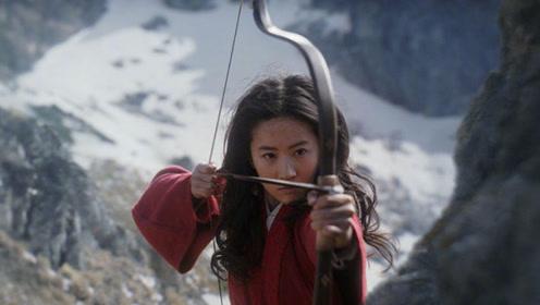 《花木兰》预告片惊艳上线,刘亦菲红衣帅翻,但这造型让人看不懂