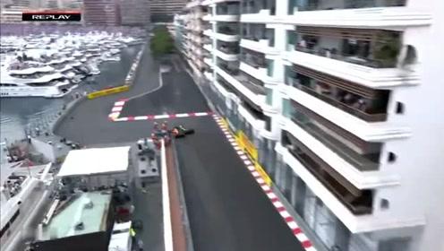 F1皇冠上明珠的摩纳哥站,超车简直太难了,他却做到了