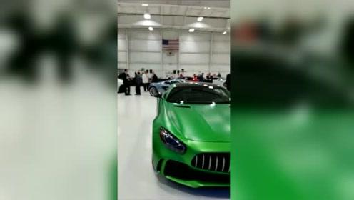 国外豪车车展,现场就没有低于500万的车!