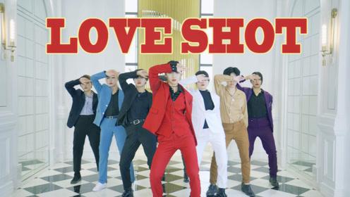 全员西装EXO《Love Shot》翻跳,都是帅气小姐姐