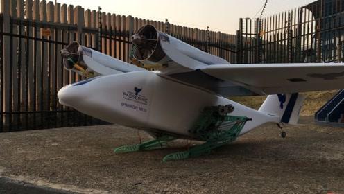 """南非发明仿生无人机!机身下""""长""""了腿,靠弹射起飞!"""