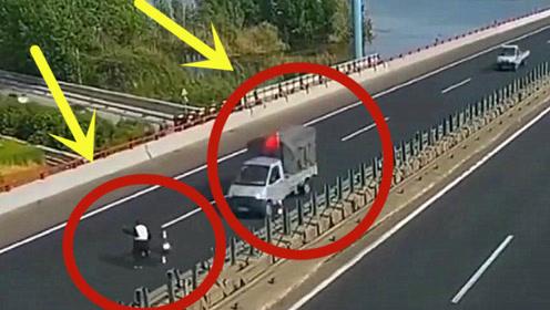 工人高速维修公路,3秒后惨遭丧命,家人查看监控难以接受!