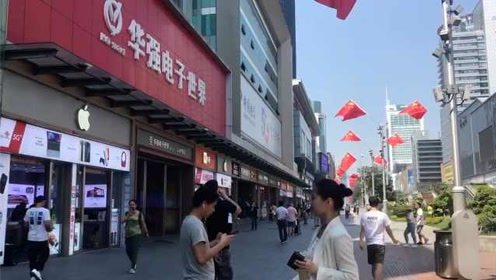 华强北新iPhone卖得比去年火,没5G不要紧