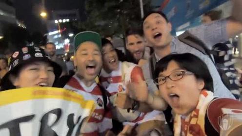最暖心东道主!橄榄球世界杯日本球迷学唱俄罗斯国歌
