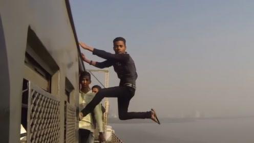 高手在民间,失手在阴间,镜头拍下印度小伙玩命瞬间!