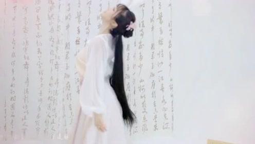 古典舞《不染》,有种纤尘不染的美,太难得了