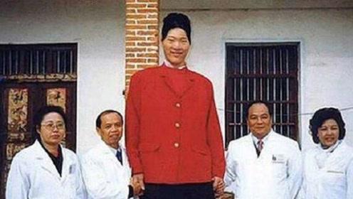 中国第一女巨人, 15岁身高就超2米比姚明还高,最大心愿是能吃饱饭