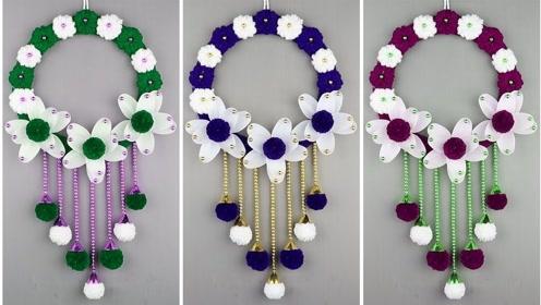 巧手小制作:做漂亮花朵装饰品