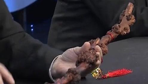 女子带着树枝鉴宝,自称曾是乾隆爷用过的,还有历史证据!