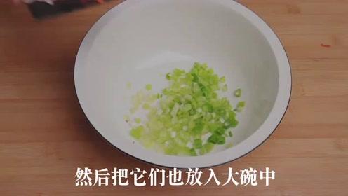 炸萝卜丸子的做法,不加一滴水,做法超级简单,出锅比包子还要香
