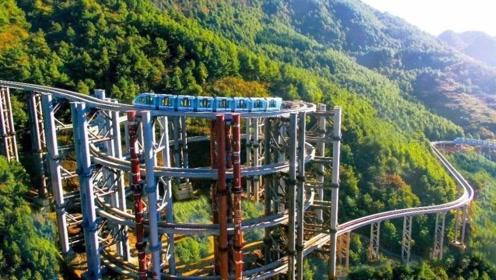 """我国又研发出伟大工程,让高铁""""爬楼"""",有机会可以去尝试一下"""