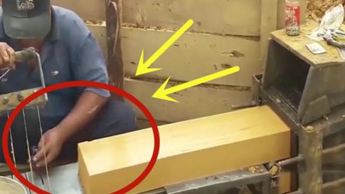 非洲制作的制砖机,效率不输大型机器,就是有点费力气!