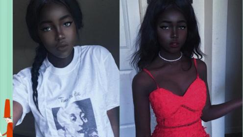 谁说皮肤黑就不能美,看清妹子长相后,刷新认知!