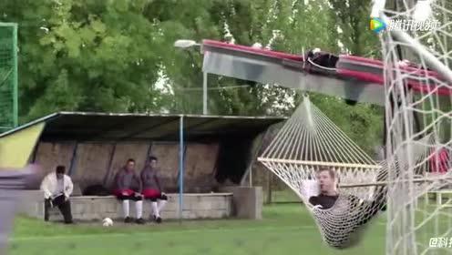 随时随地都能起飞!老外就是会玩!