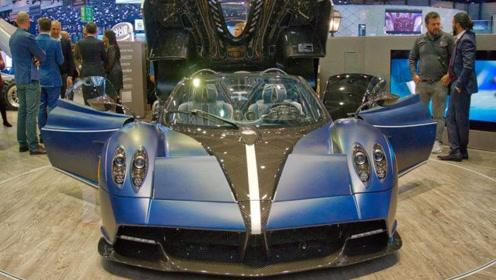 Pagani Huayra超级跑车,按下变形键那一刻才是霸气的开始!