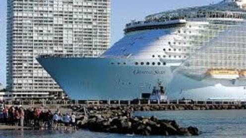 """全球""""最大""""的轮船,重量是航母的4倍,加一次油就能跑遍地球"""