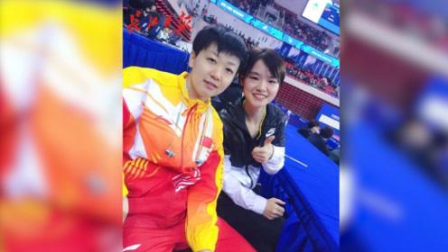 """陪练半个月,武汉体育学院美女""""削球手""""助力木子拿下军运会冠军"""