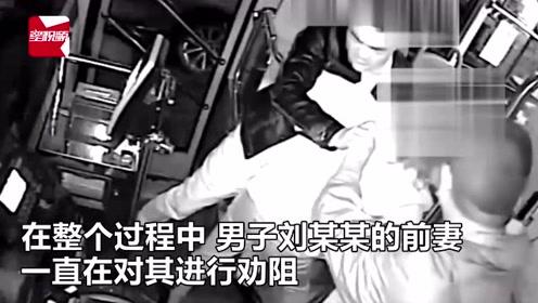 贵阳醉酒男大闹公交,辱骂殴打乘客司机还威胁民警:拿5000万砸你