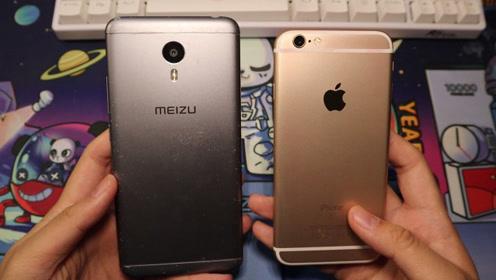 四年前的iPhone6s对比魅蓝Note3:应用开启对比,哪台更卡?