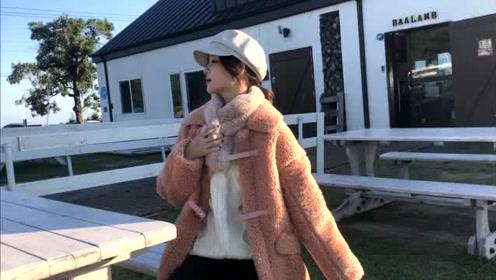 秋冬时尚潮流穿搭,既帅气又暖和的羊羔毛外套搭配,百搭又不挑人