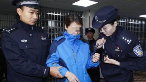 劳荣枝被移交警方现场曝光! 潜逃23年 涉及三地、7条人命终落法网
