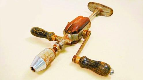认识这款工具的人不多吧,老师傅将其翻新,还蛮好用的!
