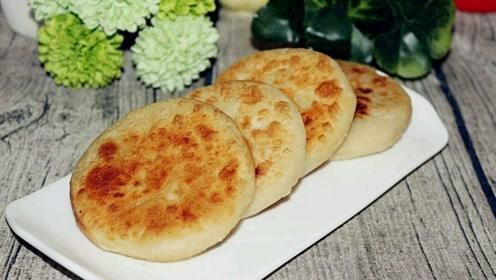 最好吃最简单的馅饼做法,掌握这个比例,个个皮薄馅多,好吃极了