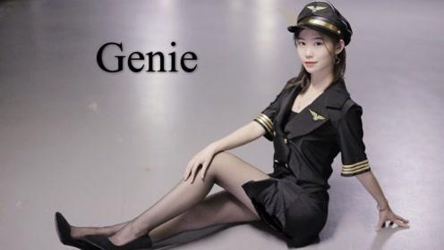 Genie-少女时代地下车库翩然起舞!真是好迷人!