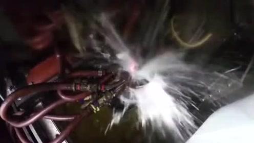 实拍川崎发动机制造工序,从材料到成品,真是大开眼界了!