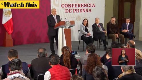 墨西哥总统督促佩洛西:是时候做出决定 达成贸易协定了