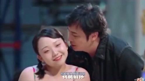 辣目洋子片场教吴镇宇东北话,竟然出奇的有味儿,语言系统转换生效了