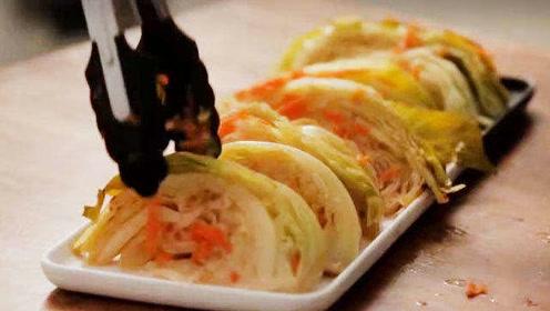 日本美女大胃王木下都爱吃的炖苞菜