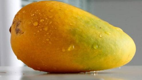 吃了20年芒果才知道,芒果只需划2刀,轻松剥皮不浪费一点果肉