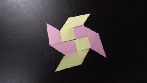 儿童手工折纸:纸郁金香折法,含苞待放