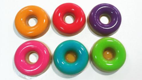 """风靡世界的""""戒指甜甜圈""""见过吗?手把手教你做,超级Q弹美味!"""
