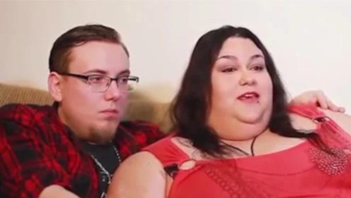 世界上最胖的女子,体重1450斤,竟找了个爱她的老公