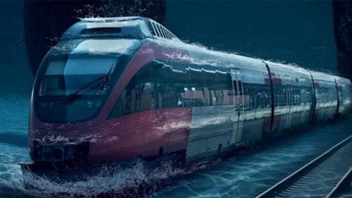 中国又一超级工程,斥资2600亿元,直接将火车开进了海里