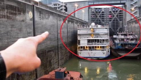 三峡大坝落差达113米,船只怎样才能顺利通过?这技术不得不服