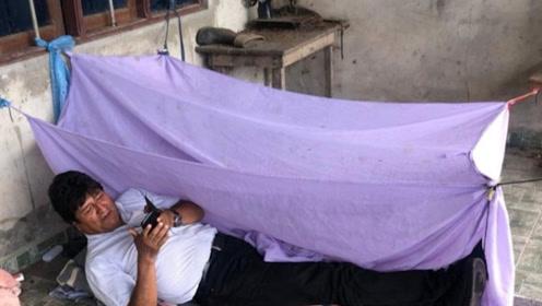 惨!玻利维亚总统被轰下台后处境凄凉 家里被洗劫一空 晚上睡地板