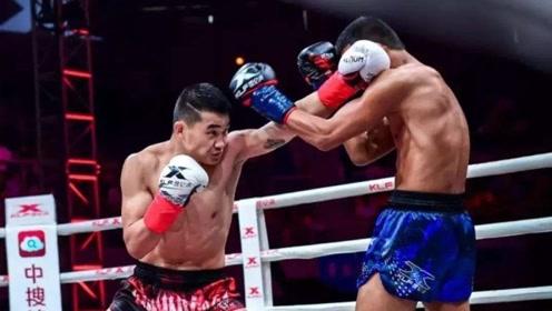 """泰国展昭来华比赛,中国""""冠军收割机""""挺身迎战!首回合将其KO"""