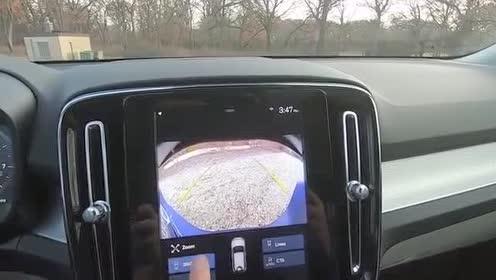 倒车影像,全新一代沃尔沃XC40测试